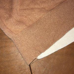 LOFT Sweaters - LOFT Lightweight Rabbit Blend Tunic Sweater Size L